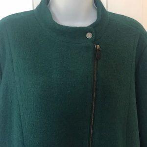 Talbots green jacket 18WP